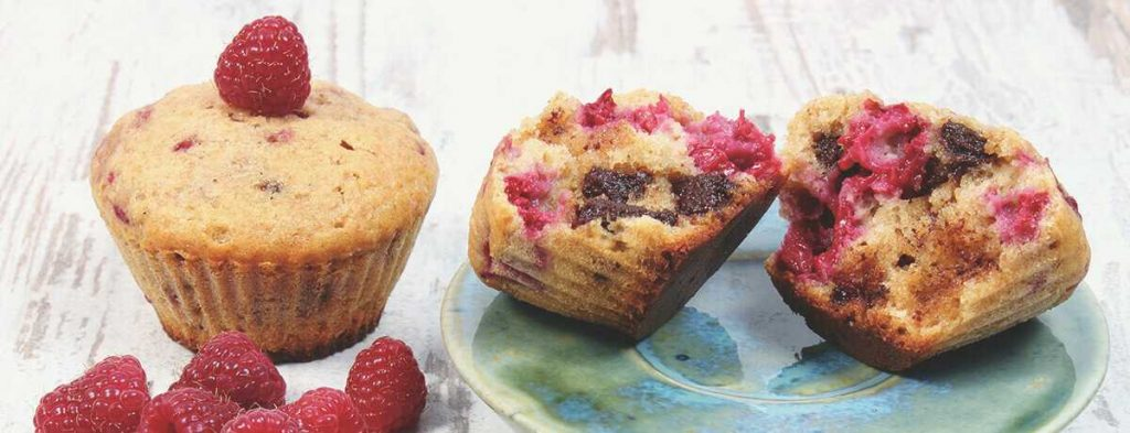 muffins fruits rouges banane