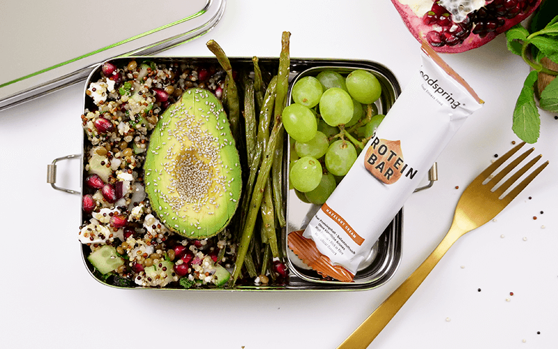 lunch box quinoa